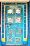 Indian ancient tribal door Stock Photo