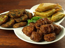 Indian appetizer Stock Photos