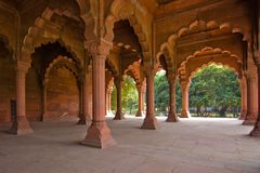 Indian arches Stock Image
