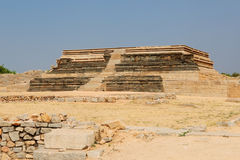 Indian architecture in Hampi Royalty Free Stock Photo