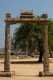 Indian architecture in Hampi Royalty Free Stock Image