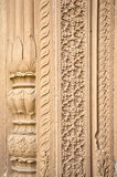 Indian architecture ornaments example In Varanasi, India Royalty Free Stock Image