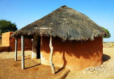 Indian architecture in Thar Desert Stock Image