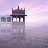 Indian architecture. Stock Photo