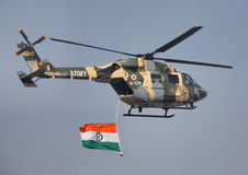 Indian Army Helicopter royalty free stock photography