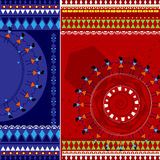Indian Art background Stock Images