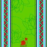 Indian Art background Stock Image
