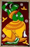 Indian Art During Durga Festival Royalty Free Stock Photos