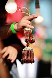 Indian asian bridal kalire tinkling bells at culture festival market Stock Photos