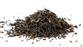 Indian ASSAM golden tips tea isolated Royalty Free Stock Photos