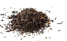 Indian ASSAM golden tips tea isolated Stock Photos