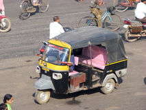 Indian auto rickshaw in Puri Royalty Free Stock Photos