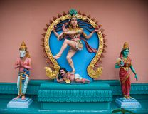 Indian avatars. Avatars in the indian temple. Penang collection royalty free stock photography