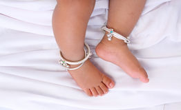 Indian Baby Feet Royalty Free Stock Photography
