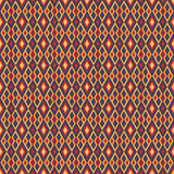 Indian background. Rhombus ethnic background with Indian accents Royalty Free Illustration