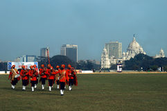 Indian Bagpipers Band Stock Photos