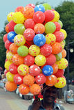 Indian balloon seller Royalty Free Stock Images