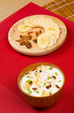 Indian banana dip Royalty Free Stock Image