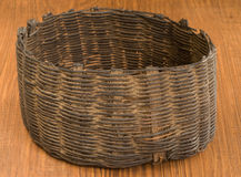 Indian basket artifact, Native American Guatamala Royalty Free Stock Photography