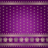 Indian baskground pattern Royalty Free Stock Images
