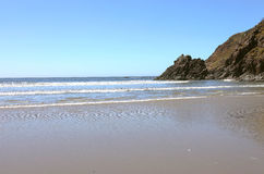 Indian beach Ecola state park, Oregon coast. Stock Photos