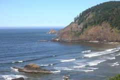 Indian beach Ecola state park, Oregon coast. Stock Photo