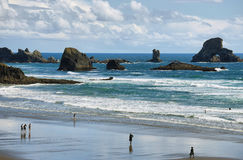 Indian beach in Ecola state park, Stock Photography