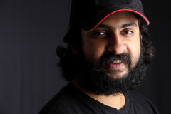 Indian bearded young man Stock Images