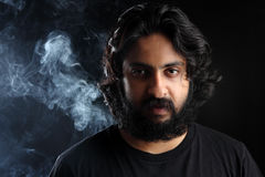 Indian bearded young man Stock Image