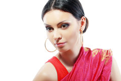 Indian beautiful fashion model Royalty Free Stock Photography