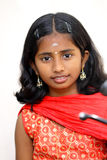 Indian beautiful teen girl Stock Photo