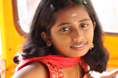 Indian beautiful teen girl Royalty Free Stock Photos