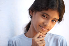 Indian beautiful teen girl Royalty Free Stock Photo