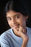 Indian beautiful teen girl Stock Photos