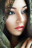 Indian Beauty Face Royalty Free Stock Photos