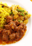 Indian Beef Curry Stock Photography