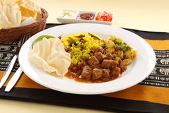 Indian Beef Curry Royalty Free Stock Images