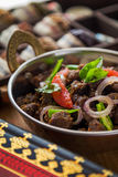 Indian Beef Fry. South Indian style Beef Fry Royalty Free Stock Image