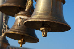 Indian bells - Tungnath Stock Images