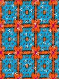 Indian Blanket in Orange Royalty Free Stock Image