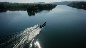 Indian boatman Royalty Free Stock Images