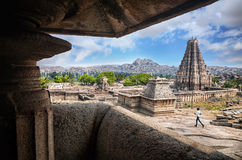 Indian boy in Hampi Royalty Free Stock Photos