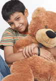 Indian boy in indoors Stock Photography