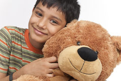 Indian boy in indoors Stock Images