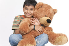 Indian boy in indoors Royalty Free Stock Photo