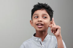 Indian boy Royalty Free Stock Photo