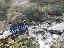 Indian boys stock image