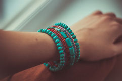 Indian bracelet Royalty Free Stock Photos
