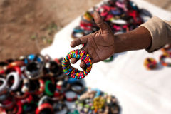 Indian bracelets Royalty Free Stock Photography