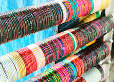 Indian Bracelets Royalty Free Stock Images